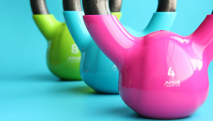 Kettlebells and other home gym workout equipment need to be cleaned