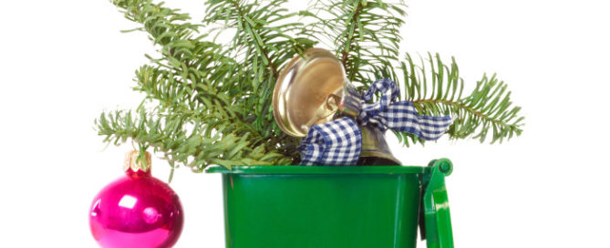 Get rid of wrapping paper, trash, trees, and holiday waste responsibly