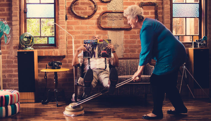Helping your elderly family keep their home clean