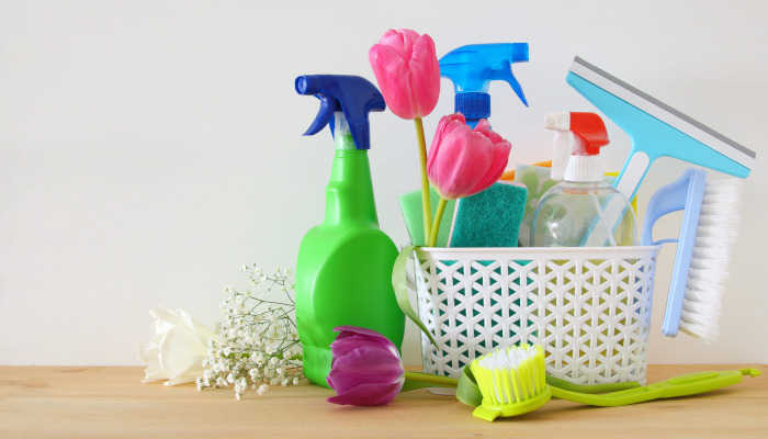 Spring cleaning to-do list for busy families