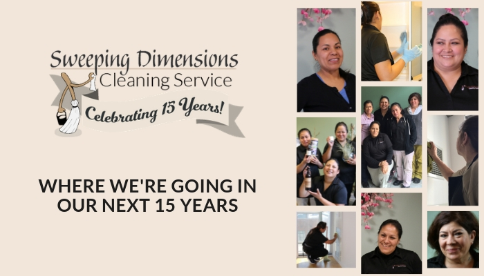 The next 15 years & the future of Sweeping Dimensions Cleaning Service