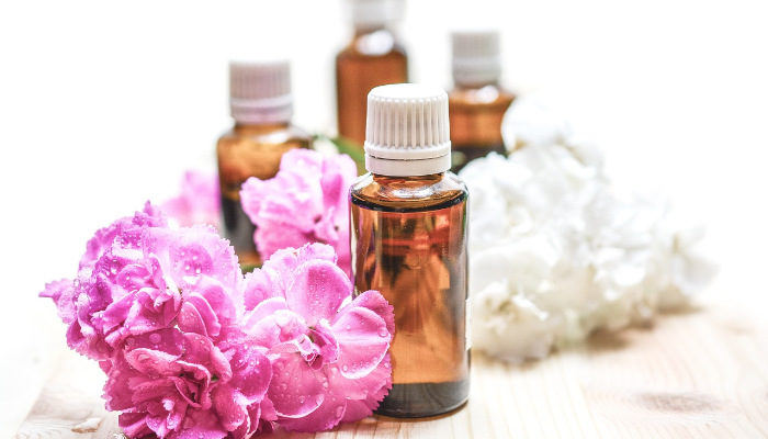 Essential oils used for cleaning