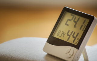 Getting rid of household humidity