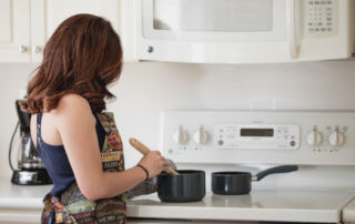 Keeping a clean kitchen at home