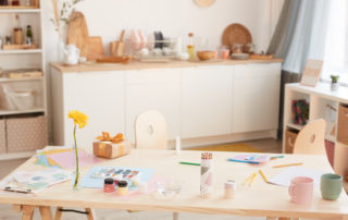 How to Clean Your Art Room or Craft Studio