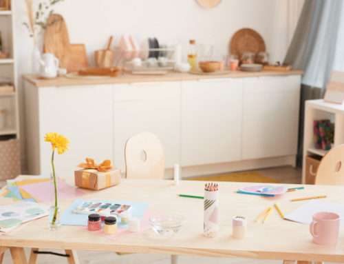 Cleaning Up Your Home Art Studio or Craft Room