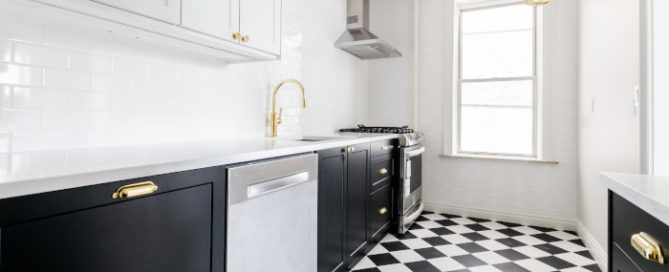 Three places to clean in a new apartment