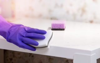 Where you can and cannot use melamine or Magic Erase sponges around the house